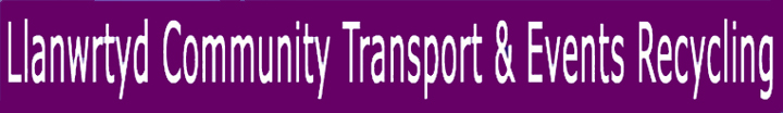 Llanwrtyd Community Transport & Events Recycling