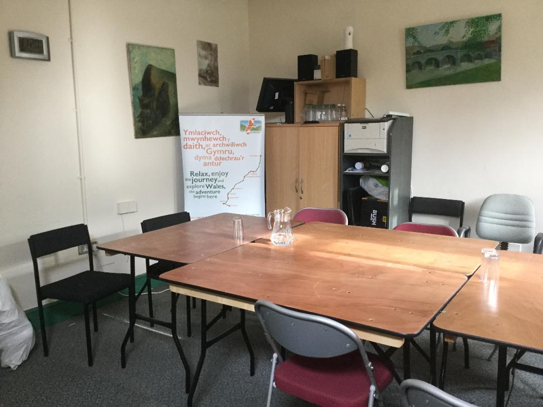 Meeting Room at Llanwrtyd Community Centre